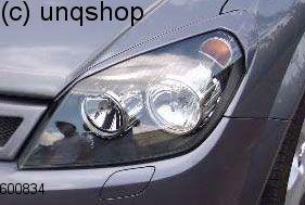 Eyebrows Vauxhall/Opel Astra Mk5/H/III