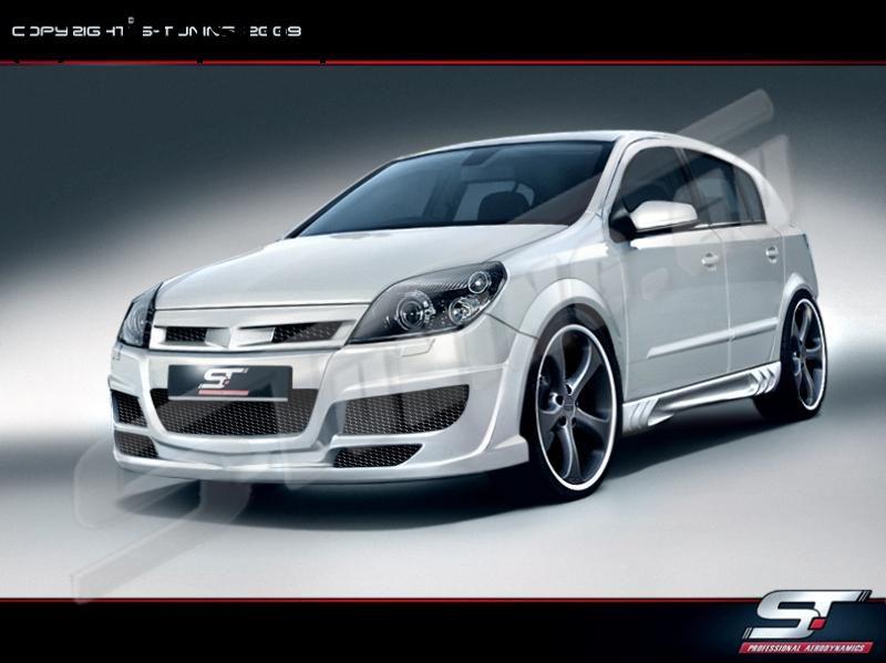 Front bumper Vauxhall/Opel Astra Mk5/H/III