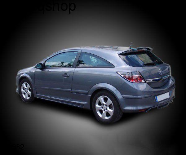 Rear splitter bumper lip spoiler valance add on Vauxhall/Opel Astra MK5/H/III , only for 3 Doors