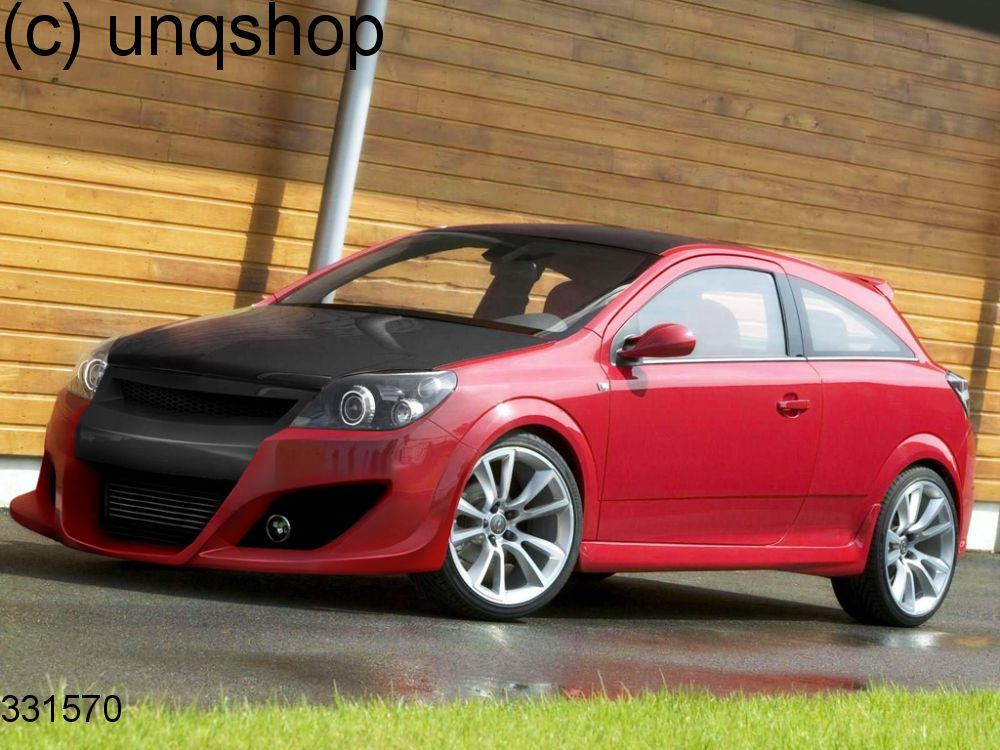 front bumper sport vauxhall opel astra mk5 h iii only for gtc. Black Bedroom Furniture Sets. Home Design Ideas