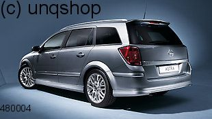 Roof Spoiler (VXR OPC Styling pack) Vauxhall/Opel Astra Mk5/H/III , only for Estate