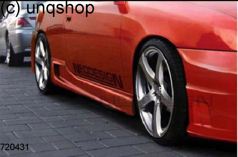 Side skirts (GTX) Vauxhall/Opel Calibra