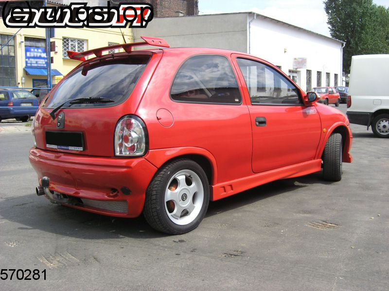 Side Skirts (RACING) Vauxhall/Opel Corsa B