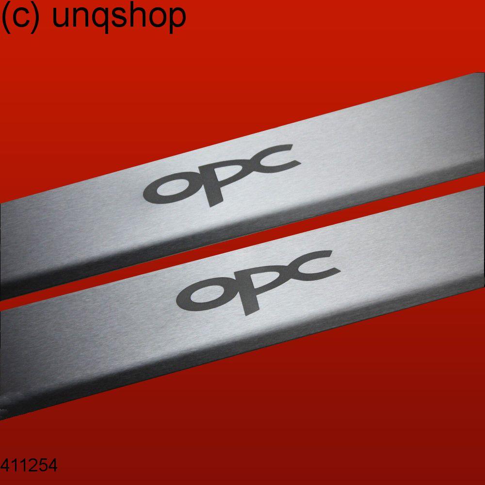 Door sills (OPC) Vauxhall/Opel Corsa D , only for 3 doors