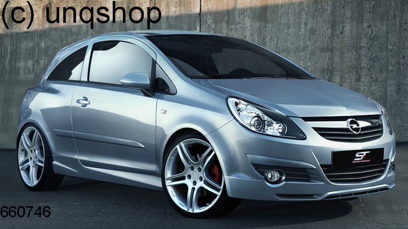 Side Skirts (Rebel) Vauxhall/Opel Corsa D
