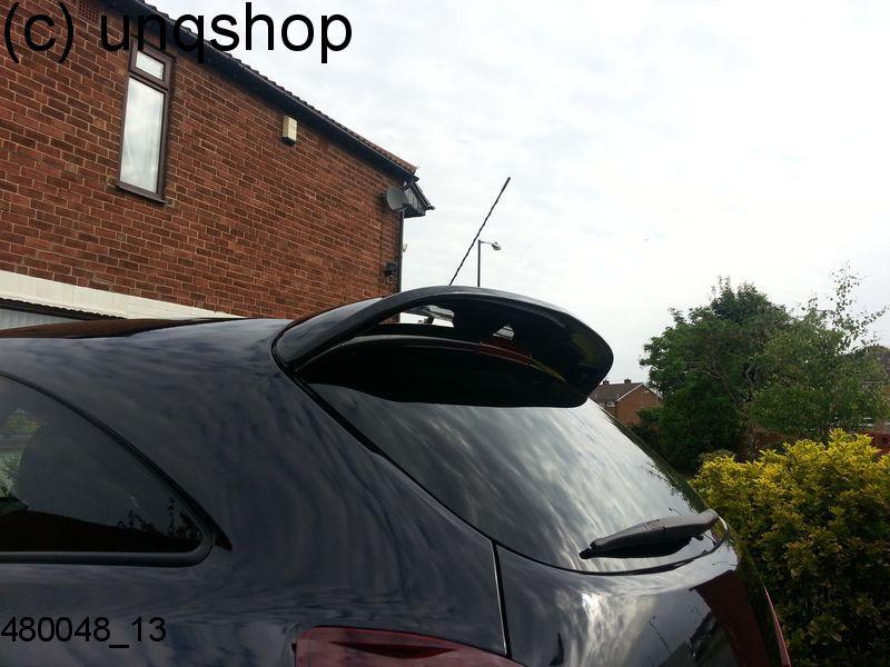 480048 Vauxhall Opel Corsa D 3 Doors Vxr Opc Roof Spoiler Grp Ebay
