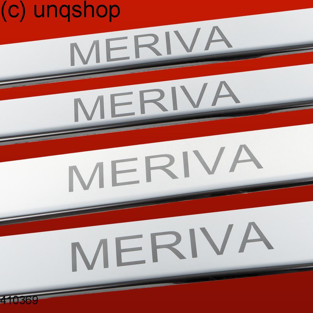 Door sills (MERIVA) Vauxhall/Opel Meriva A