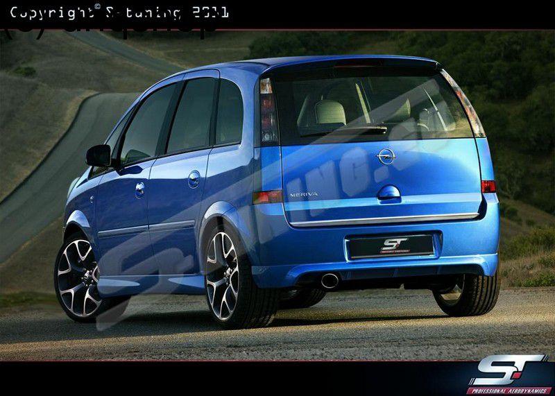 Rear bumper Vauxhall/Opel Meriva A