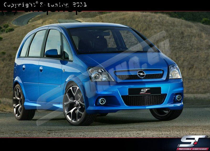 Side skirts Vauxhall/Opel Meriva A