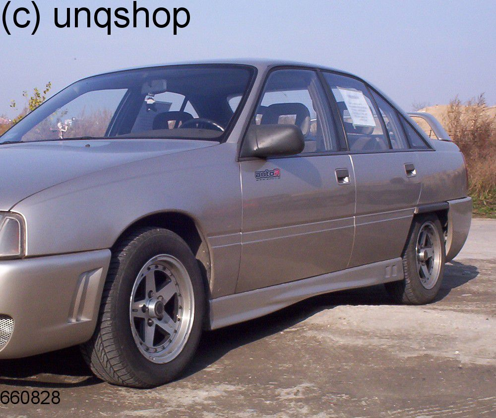 Side Skirts (RS LOOK) Vauxhall/Opel Omega A