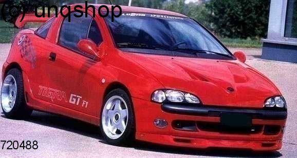 Front splitter bumper lip spoiler valance add on (L) Vauxhall/Opel Tigra Mk1