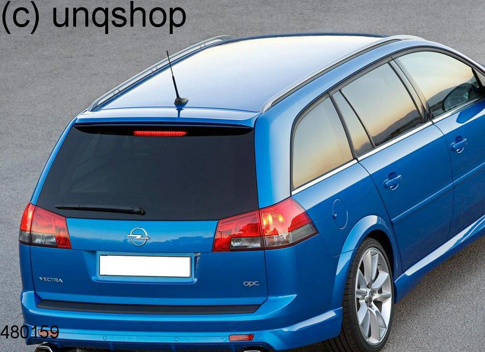 roof spoiler estate vauxhall opel vectra c. Black Bedroom Furniture Sets. Home Design Ideas