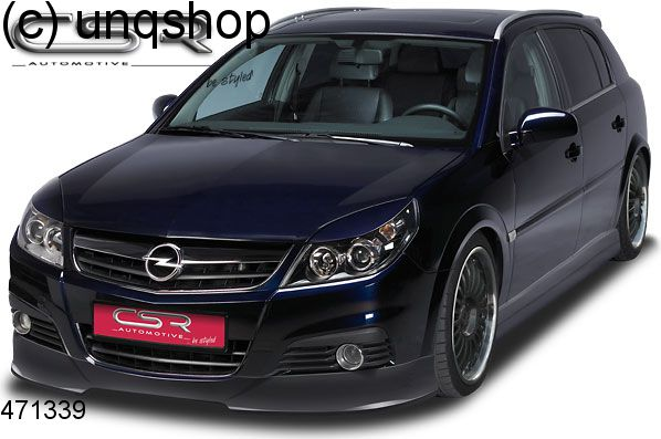 Front splitter bumper lip spoiler valance add on Vauxhall/Opel ...