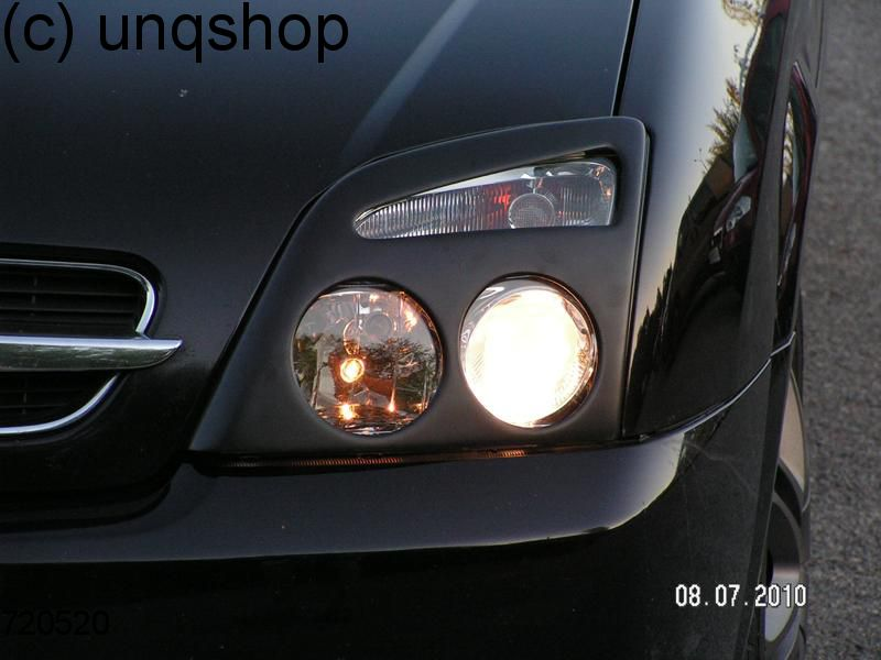 Headlights Masks Vauxhall/Opel Vectra C , only for Prefacelift
