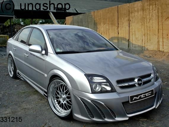 Front bumper (HIGH) Vauxhall/Opel Vectra C