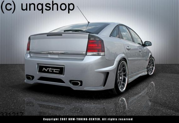 Rear bumper (NTC/DJ) Vauxhall/Opel Vectra C , only for GTS ONLY