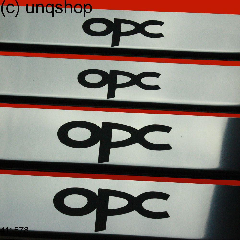 Door sills (OPC) Vauxhall/Opel Vectra C , only for Hatchback/Saloon