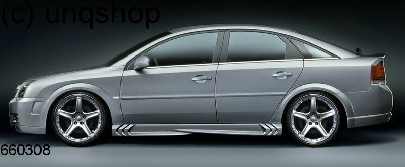 Side skirts (S-Power) Vauxhall/Opel Vectra C