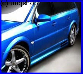 Side Skirts Vauxhall/Opel Vectra C , only for Estate
