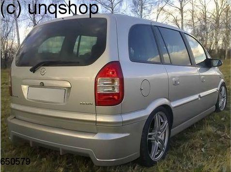Rear Bumper Vauxhallopel Zafira A