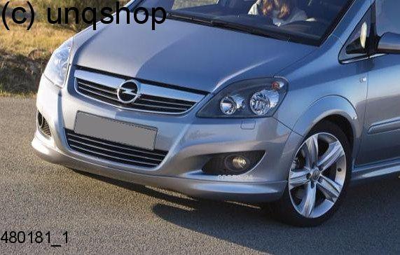 Front Splitter Bumper Lip Spoiler Valance Add On Opc Line Vauxhall