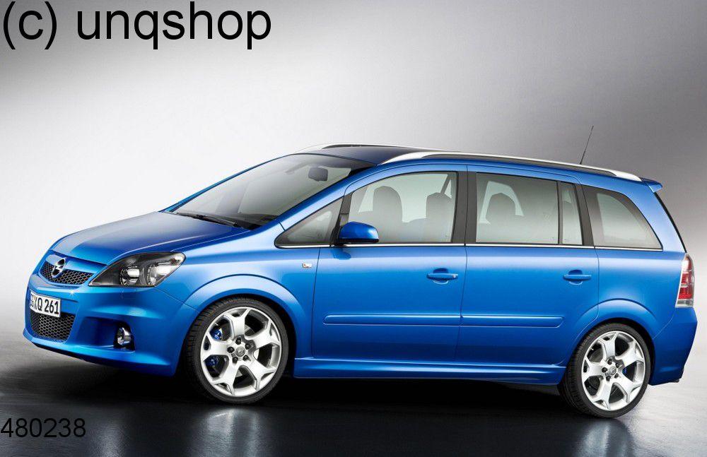 Side skirts (VXR OPC Styling pack) Vauxhall/Opel Zafira B