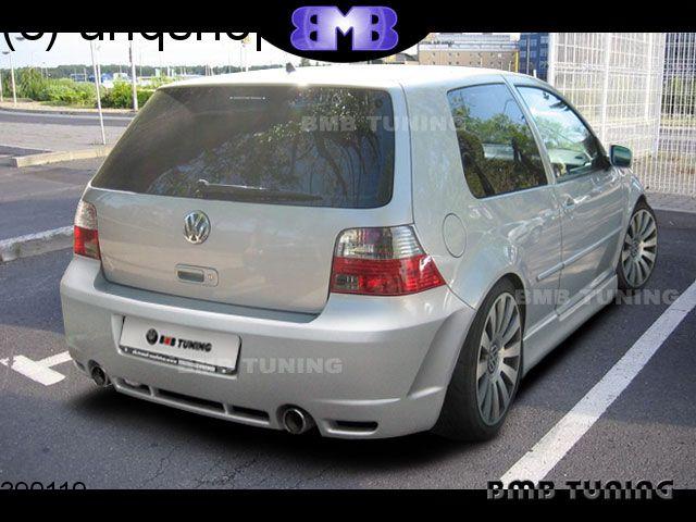 Rear bumper (R33) VW Golf Mk4