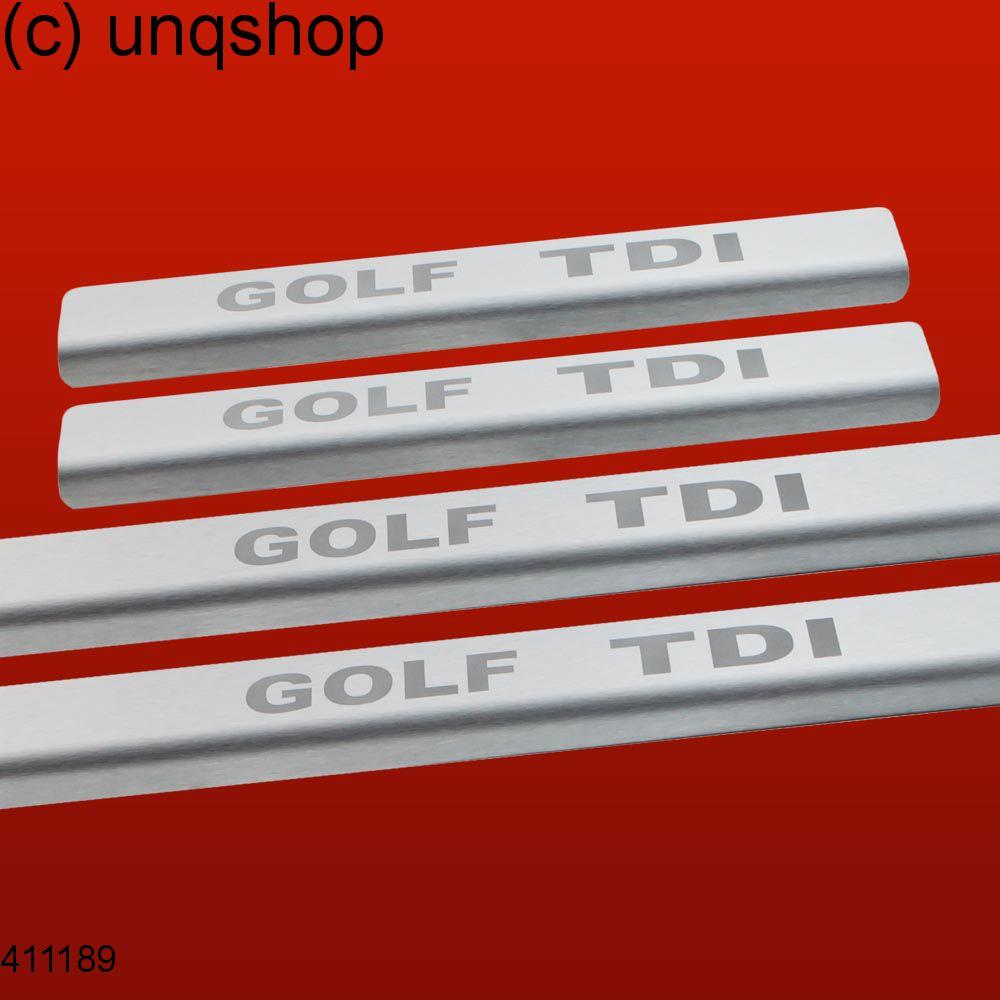 Door sills (GOLF TDI) VW Golf Mk6 , only for 5 doors