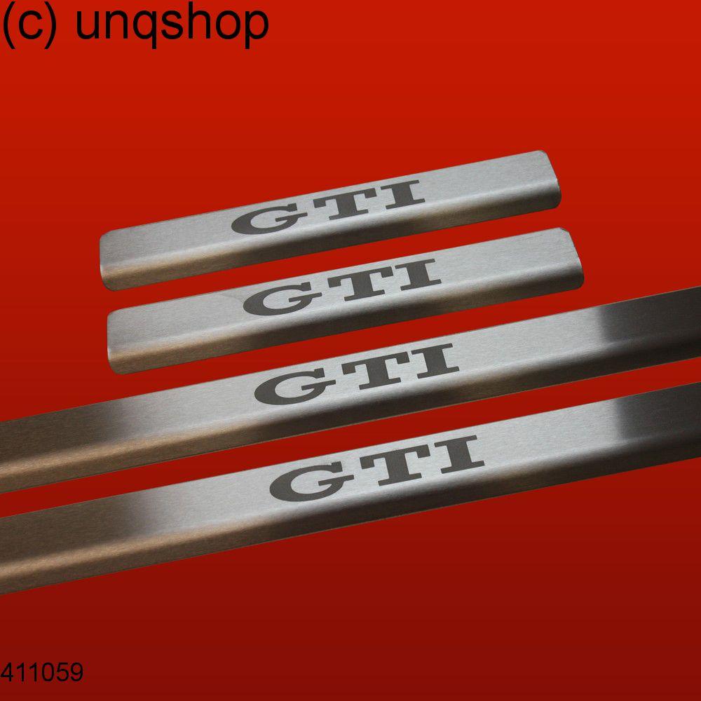 Door sills (GTI) VW Golf Mk6 , only for 5 doors