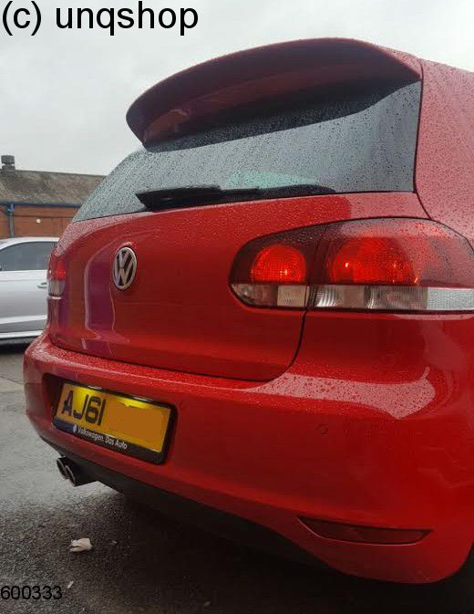 Roof spoiler VW Golf Mk6