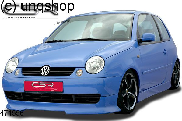 front splitter bumper lip spoiler valance add on vw lupo. Black Bedroom Furniture Sets. Home Design Ideas