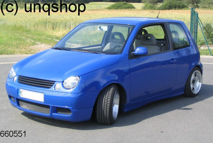 front splitter bumper lip spoiler valance add on lt vw lupo. Black Bedroom Furniture Sets. Home Design Ideas