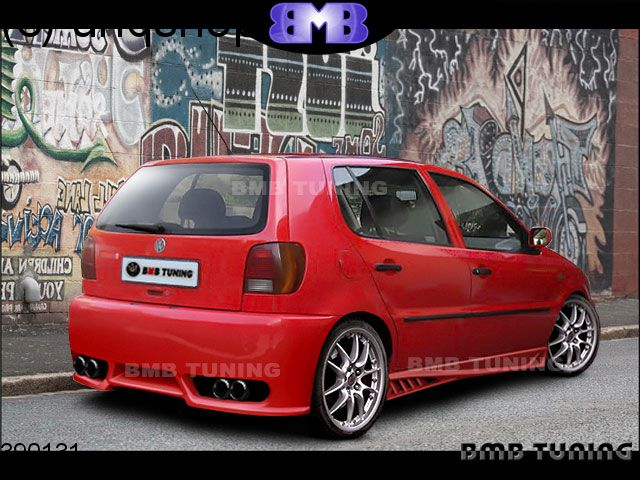 Rear bumper VW Polo Mk3 6N