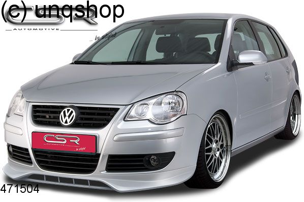 Front Splitter Bumper Lip Spoiler Valance Add On Vw Polo