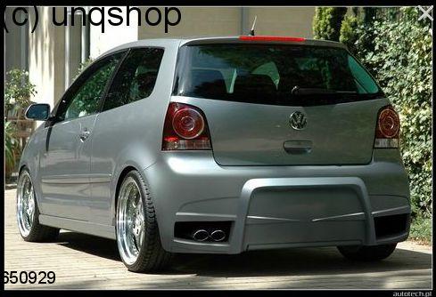 Rear bumper VW Polo Mk4 9N3