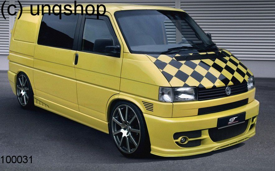 Front bumper VW T4  , only for Short/Flat Nose with Foglights