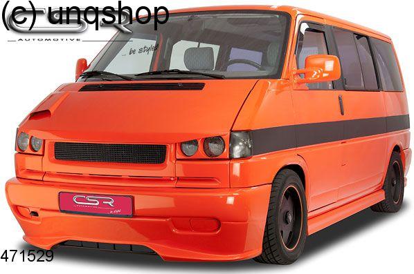 Front splitter bumper lip spoiler valance add on (Short Flat Nose) VW T4  , only for Facelift 1995-2003