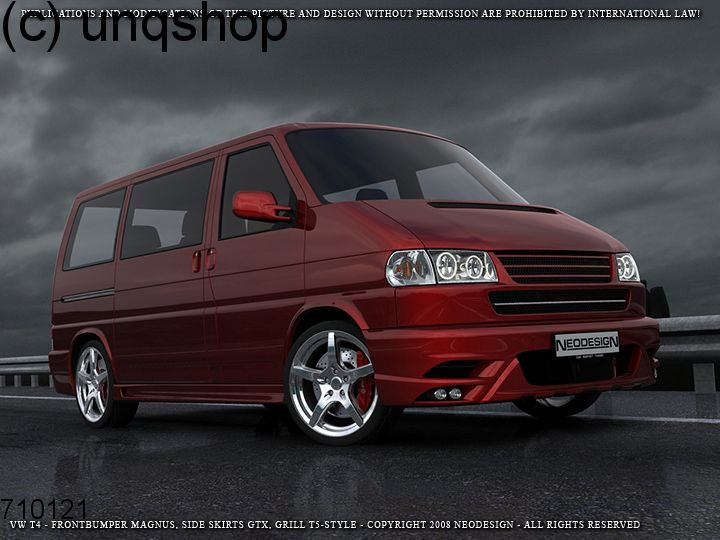 Grill (T5 Style Badgeless Dabadged) VW T4