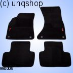 Car Mats (A4) Audi A4 B8 , only for EURO LHD