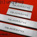 Door sills (Quattro) Audi A5  , only for Sportback Facelift