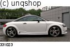 Side skirts (GTR) Audi TT Mk1 8N