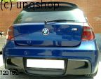 Rear diffuser BMW 1 SERIES E81/82/87/88 , only for Prefacelift E87 E81