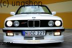 Front splitter bumper lip spoiler valance add on (Alpina) BMW 3 SERIES E30