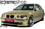 Front splitter bumper lip spoiler valance add on (Compact) BMW 3 SERIES E46