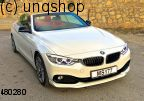 Front splitter bumper lip spoiler valance add on BMW 4 SERIES F32/F33