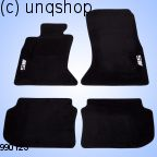 Car Mats (M) BMW 5 SERIES F10 , only for EURO LHD
