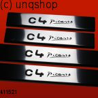Door sills (C4 Picasso) Citroen C4 PICASSO Mk1 , only for Facelift
