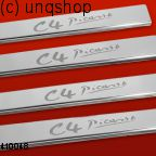 Door sills (C4 Picasso) Citroen C4 PICASSO Mk1 , only for Prefacelift