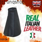 Leather Gear Gaiter (Black with black stitch) Ford C-MAX Mk2