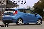 Rear bumper corners add ons Ford Fiesta MK7 , only for Prefacelift